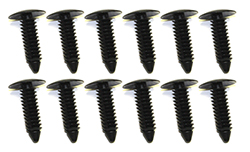 Firewall Cover Plastic Fasteners, Set of 12