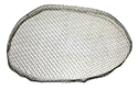 56-57 Air Duct Scoop Screen (Left)