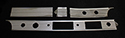 55/56 Thunderbird 4 piece dash aluminum set, USA