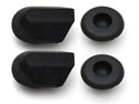 55/57 Thunderbird quarter panel drain plugs, set 4