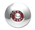 55 10 inch Hubcap with red center, each