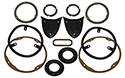 55 Exterior Light Gasket Set, Without Back Up Lights