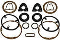 56 Exterior Light Gasket Set, With Back Up Lights