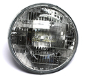 55-57 12 Volt Fomoco Etched Halogen Headlight Bulb