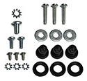 55 Horn Ring Screw And Grommet Attaching Kit