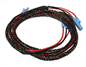 56-57 Neutral Safety Switch Wiring Harness With Back Up Lights