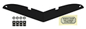 55/57 Thunderbird Hood Scoop Block Off Plate Kit
