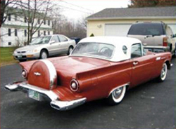 57 Thunderbird Continental Kit, extended type