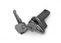 55-60 Door Lock Cylinder And Key, (Left)