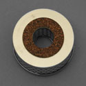 "55-57 Power Steering Filter, 3"" Diameter"