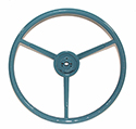 57 Thunderbird Steering Wheel, Blue