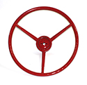 57 Steering Wheel, Red