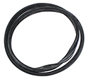 55-57 Hardtop Back Window Glass Weatherstrip