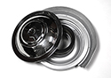 55 Reproduction Air Cleaner With Polished Stainless Steel Top, Paper Filter Type