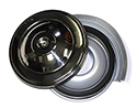 57 Reproduction Air Cleaner Assembly With Polished Stainless Steel Top