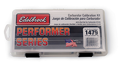 Edelbrock Carburetor Calibration kit for 1405 carb