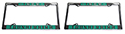 56 Thunderbird  License Plate Frame,pair