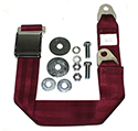 Maroon Seat Belt, Long