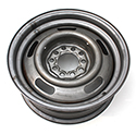 "58-63 14 X 6"" Replacement Steel Wheel"
