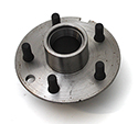 55-62 Front Brake Hub With Studs And Races