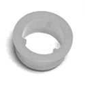 61/63 Thunderbird Door Lock Knob Grommet, White