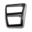 65-72 Parking Brake Stainless Steel Pedal Pad Trim