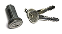 65-66 Trunk Lock Cylinder & Keys