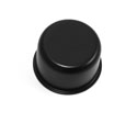 Oil Cap, Push On, without Spout, Black