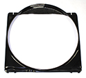 66 Thunderbird Fan Shroud, with 17 inch core