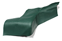 60 Thunderbird Green Rear Arm Rest Covers