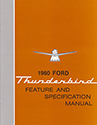 60 Thunderbird  Feature and Specification Manual