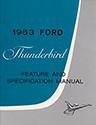 63 Thunderbird Feature and Specification Manual