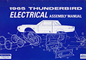 65 Thunderbird  Electrical Assembly Manual