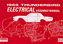 66 Thunderbird  Electrical Assembly Manual