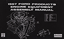 1967 Ford Engine Equipment and Assembly Manual