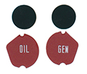 Jewel kit for oil, generator & turn signals