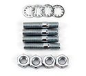 Edelbrock Carb stud kit, 5/16 x 1 3/8