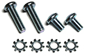 57 Outside door handles to doors screws & washers, (8 pcs-2 sides)
