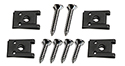 55/57 Thunderbird Side grill moldings to body screws and spring nuts  (10 pieces -2 sides)