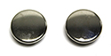"55-57 Floor Plug Metal 1/2"" Buttons For Power Seat"