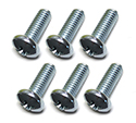 Gas tank sending unit to gas tank screws, (6 pcs)