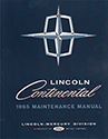 65 Lincoln Continental Body, Chassis & Electrical Service Manual