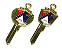 52-64 Ford Passenger Car/Truck Deluxe Reproduction Key Blanks