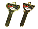 65-72 Ford Passenger Car/Truck Deluxe Reproduction Key Blanks